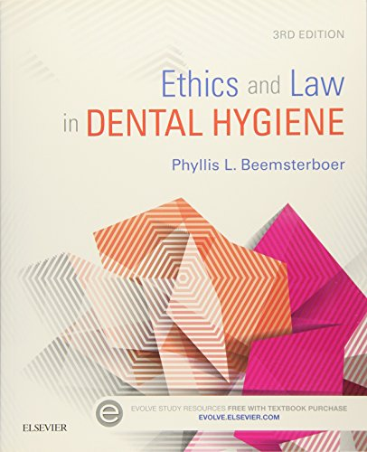 ETHICS AND LAW IN DENTAL HYGIENE,3ED
