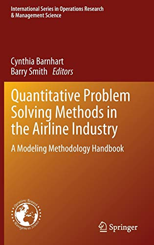 PDF Quantitative Problem Solving Methods in the Airline Industry A Modeling Methodology Handbook International Series in Operations Research Management Science