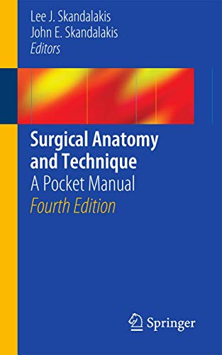 SURGICAL ANATOMY AND TECHNIQUES: A POCKET MANUAL, 4ED