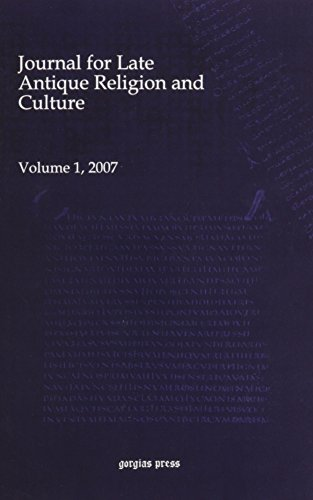 Journal for Late Antique Religion and Culture