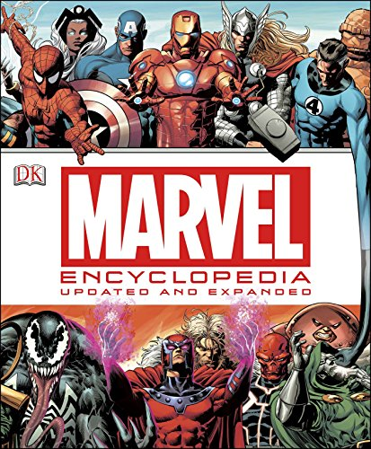 The Marvel Encyclopedia: The Definitive Guide to the Characters of the Marvel Universe cover