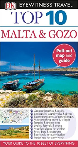 Top 10 Malta and Gozo (Eyewitness Top 10 Travel Guide) - Mary-Ann GallagherDraughtsman Ltd