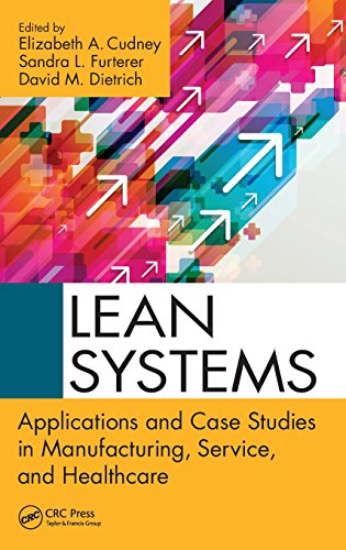 PDF Lean Systems Applications and Case Studies in Manufacturing Service and Healthcare
