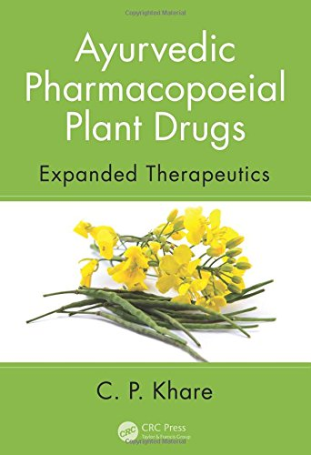 AYURVEDIC PHARMACOPOIEAL PLANT DRUGS (HB 2016)