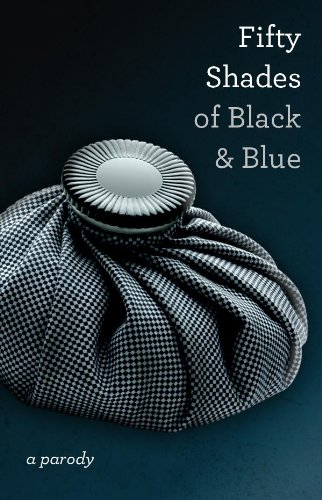 a grey hot water bottle on a grey background: Fifty Shades of Black and Blue