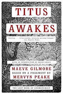 "Cover & Synopsis: ""Titus Awakes"" by Maeve Gilmore - A New Gormenghast Novel!"