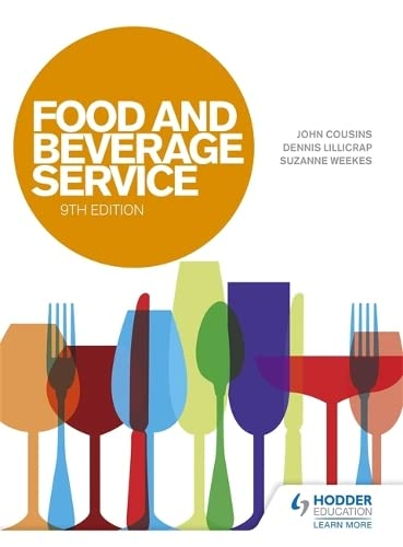 FOOD AND BEVERAGE SERVICE, 9ED