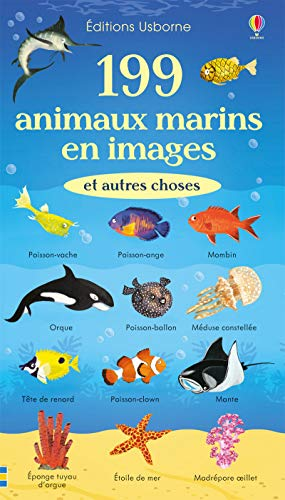 199 animaux marins en images et autres choses / illustrations, Nikki Dyson ; traduction, Véronique Duran.