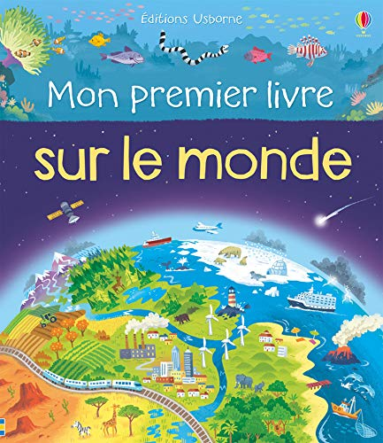 Mon premier livre sur le monde / illustrations, Lee Cosgrove ; texte, Matthew Oldham ; traduction, Véronique Duran.