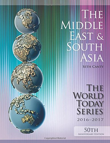 The Middle East and South Asia 2016-2017 (World Today (Stryker)) - Seth Cantey