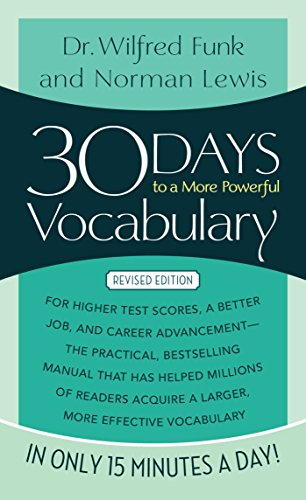 30 DAYS TO A MORE POWERFUL VOCABULAR (*)