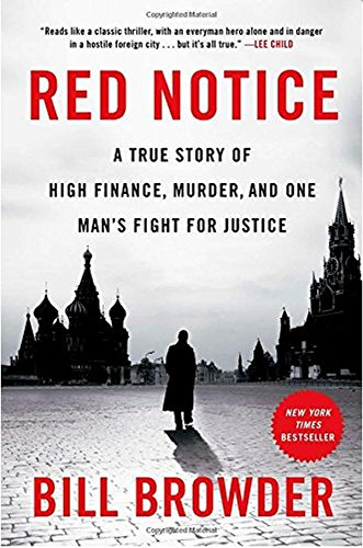 Red Notice Book Cover Picture