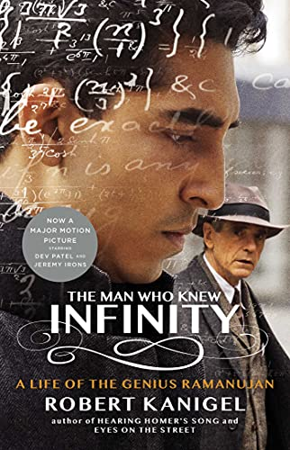 The Man Who Knew Infinity Book Cover Picture