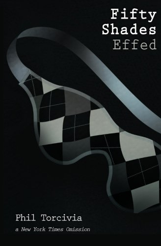 A sleep mask with argyle print, Fifty Shades Effed