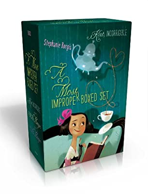 Coming Soon: A MOST IMPROPER BOXED SET by Stephanie Burgis