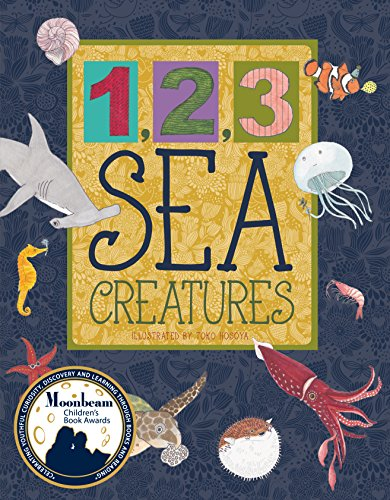 1, 2, 3 sea creatures / illustrated by Toko Hosoya.