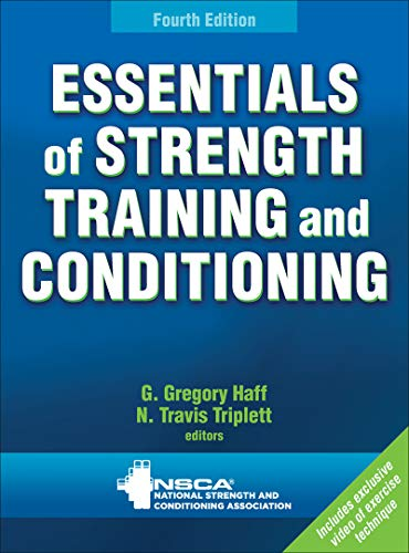 Essentials of Strength Training and Conditioning Book Cover Picture