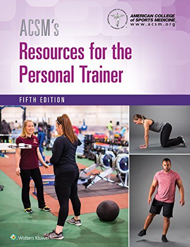 ACSM'S RESOURCES FOR THE PERSONAL TRAINER, 5E (HB)
