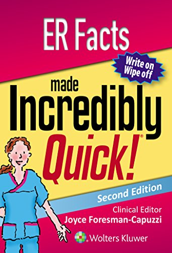 ER FACTS MADE INCREDIBLY QUICK (INCREDIBLY EASY! SERIES), 2/ED.
