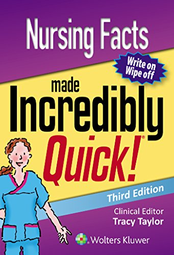 NURSING FACTS MADE INCREDIBLY QUICK (INCREDIBLY EASY! SERIES), 3/ED.
