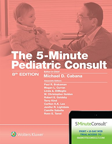 5-MINUTE PEDIATRIC CONSULT, 8/ED.