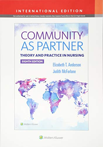 COMMUNITY AS PARTNER, INTERNATIONAL EDITION, 8/ED.