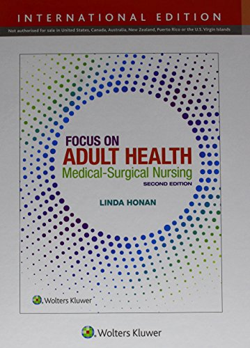 FOCUS ON ADULT HEALTH, INTERNATIONAL EDITION, 2/ED.