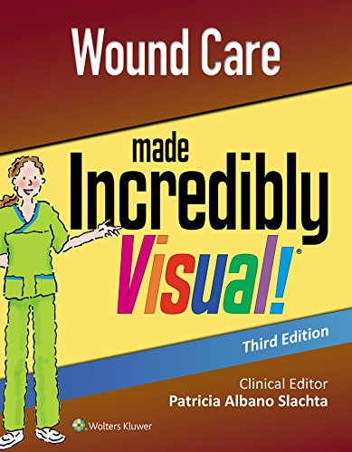 WOUND CARE MADE INCREDIBLY VISUAL (INCREDIBLY EASY! SERIES), 3/ED.