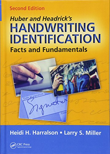 HUBER AND HEADRICK'S HANDWRITING INDENTIFICATION, 2E (HB)