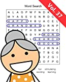 Happy Grandma`s Word Search Books: Volume 37
