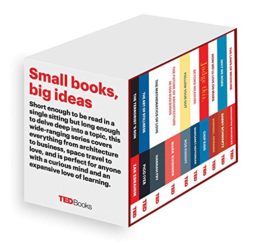TED Books Box Set: The Completist: The Terrorist's Son, The Mathematics of Love, The Art of Stillness, The Future of Architecture, Beyond Measure, ... The Laws of Medicine, and Follow Your Gut - Zak Ebrahim, Hannah Fry, Pico Iyer, Marc Kushner, Margaret H