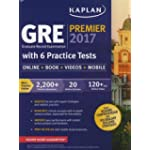 GRE Premier 2017 with 6 Practice Tests: Online + Book + Videos + Mobile (Kaplan Test Prep)
