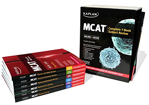 MCAT Complete 7-Book Subject Review: Online + Book (Kaplan Test Prep) - Kaplan Test Prep