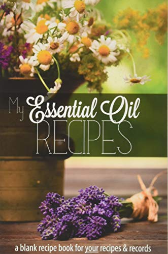 My Essential Oil Recipes: a blank recipe book for your recipes and records (Black & White version) - Nicolette Roux