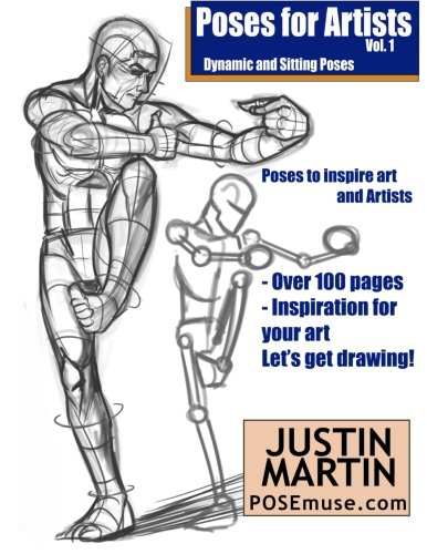 Pdf Poses For Artists Volume 1 Dynamic And Sitting Poses An