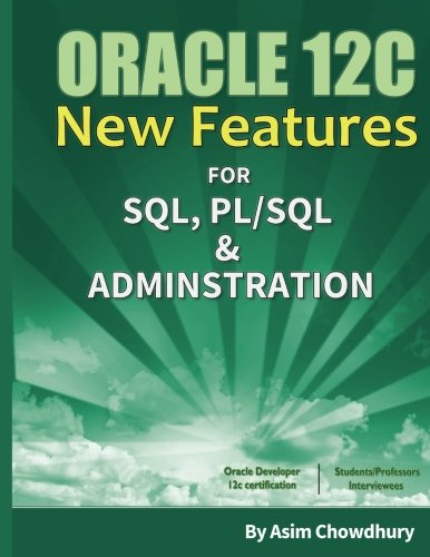 Pdf Oracle 12c New Features Sql Pl Sql Administration Free