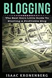 Blogging: The Best Darn Little Guide To Starting A Profitable Blog (Blogging For Profit) (Volume 1)