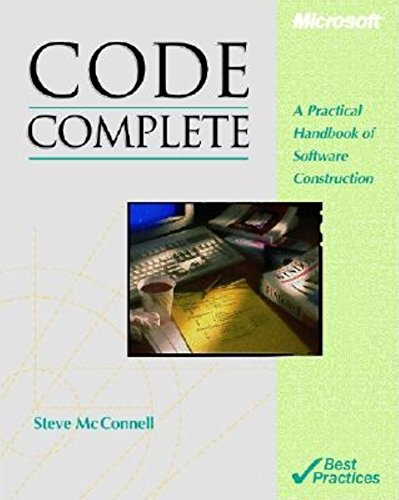 Code Complete (Microsoft Programming Series)
