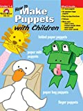 cover of How to Make Puppets With Children (Craft Book Series)