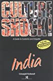 Culture Shock: India book cover