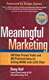 Buy Meaningful Marketing from Amazon