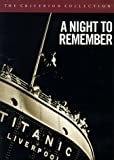 A Night to Remember - Criterion Collection - movie DVD cover picture