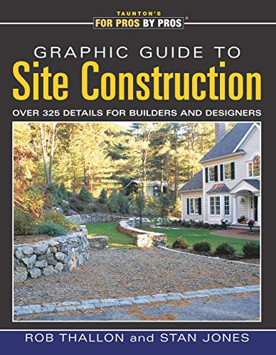 Graphic Guide to Site Construction: Over 325 Details for Builders and Designers by Rob Thallon, Stan Jones