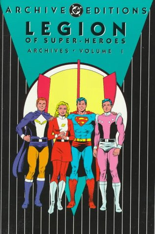 Legion of Super-Heroes Archives Vol. 1 Cover