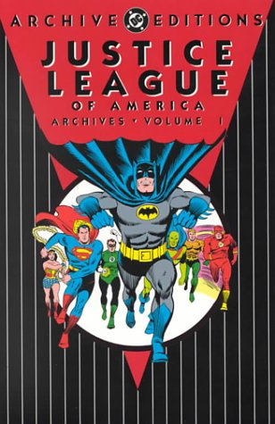 Justice League Of America Archives Vol. 1 Cover