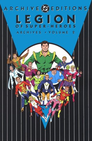 Legion of Super-Heroes Archives Vol. 2 Cover