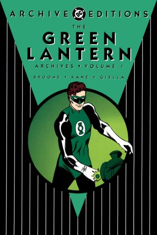 The Green Lantern Archives Vol. 1 Cover