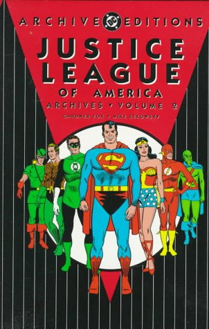 Justice League Of America Archives Vol. 2 Cover