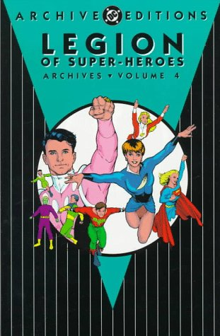 Legion of Super-Heroes Archives Vol. 4 Cover