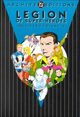Legion of Super-Heroes Archives Vol. 5 Cover